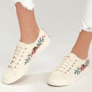 Keds Rifle Paper shoes, size 8, new without box